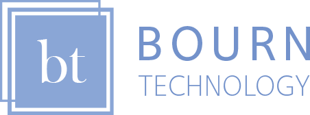 Bourn Technolgy logo with transparent background