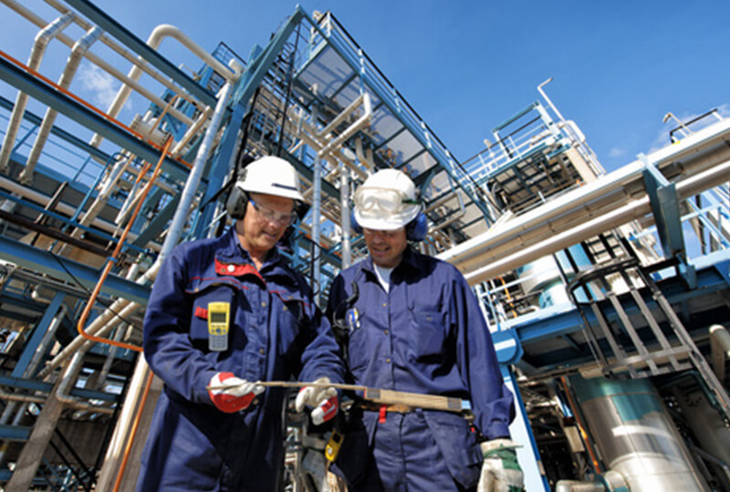 Oil and gas industry workers